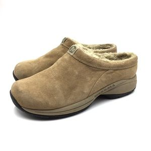 Merrell Suede Leather Mules